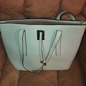 Light blue purse